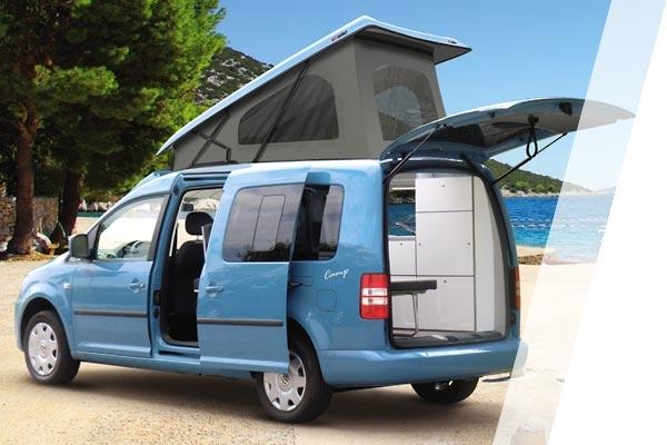 ford tourneo courier camping ausbau ford nutzfahrzeuge. Black Bedroom Furniture Sets. Home Design Ideas